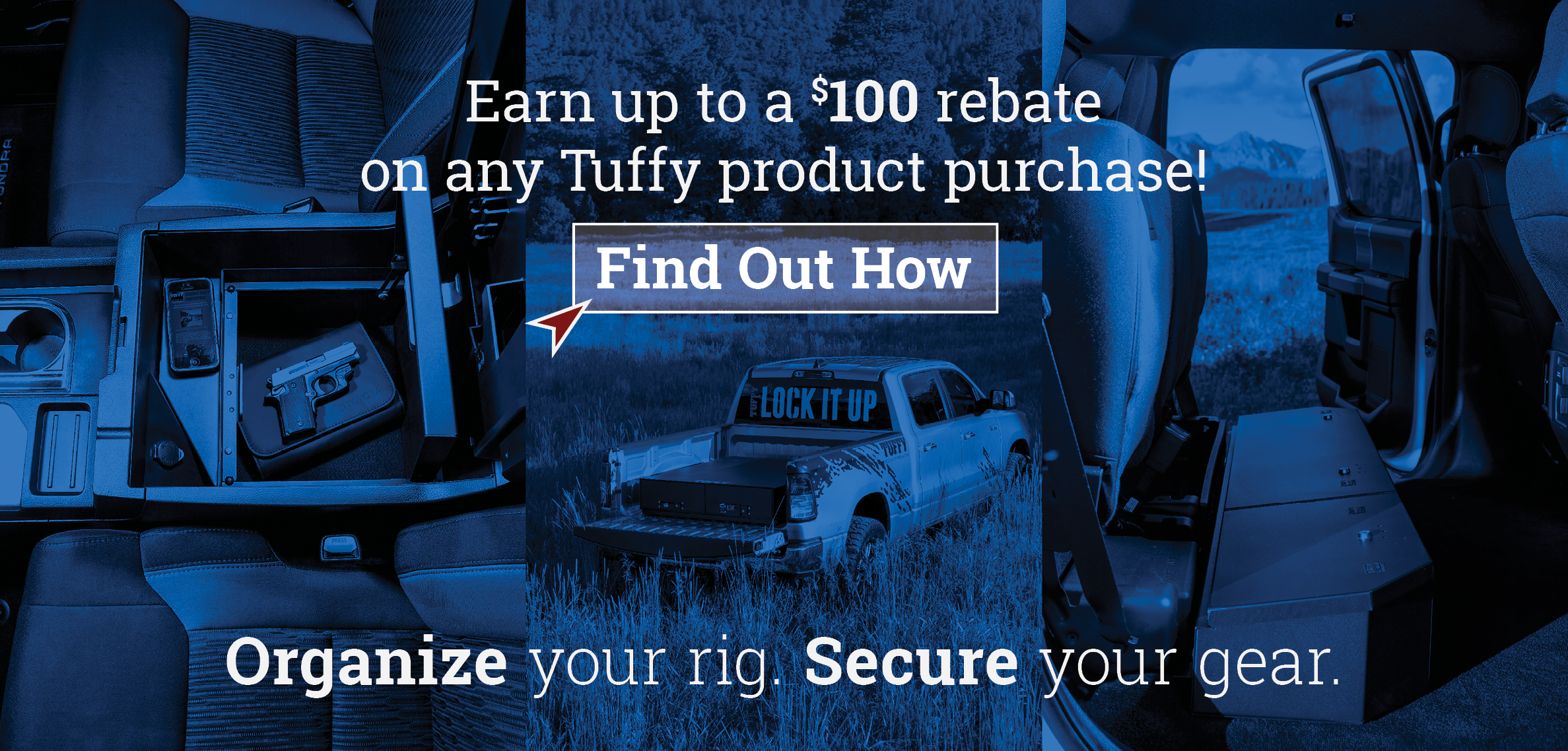 Tuffy Visa® Prepaid Card.